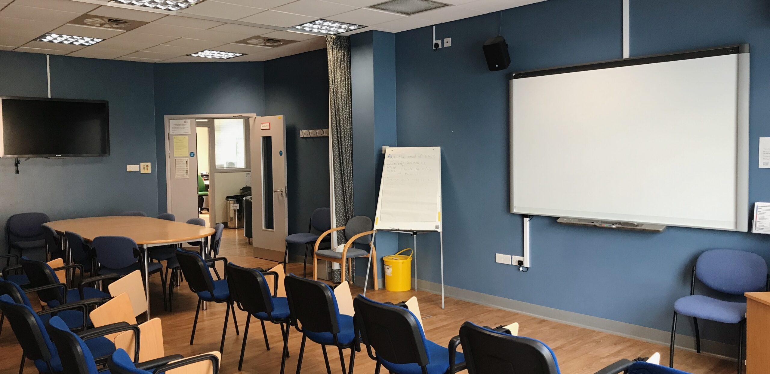 Debrief teaching room